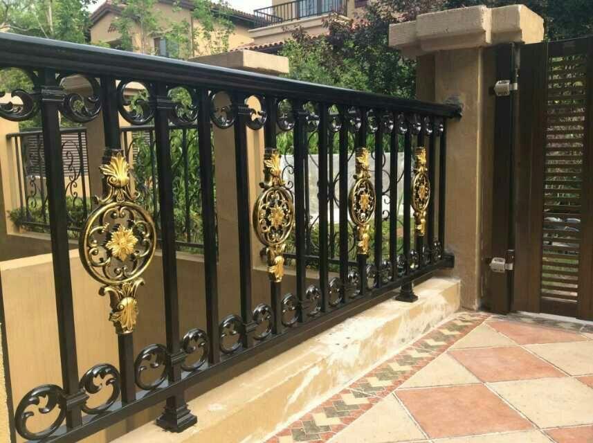 镀锌私家花园栏杆