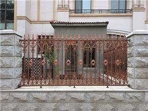铝合金围墙护栏16