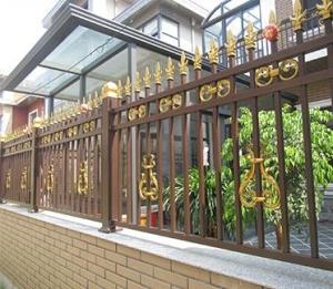 德宏彩色铝合金栏杆