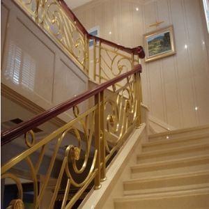 金属雕花楼梯栏杆