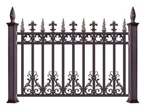 铝合金围墙护栏13