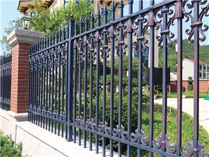 铝合金围墙护栏19