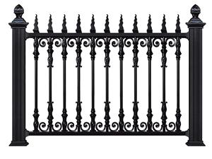 铝合金围墙护栏21
