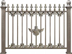 铝合金围墙护栏32