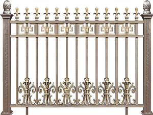 铝合金围墙护栏34