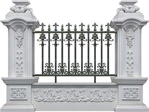 铝合金围墙护栏37