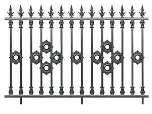 铝合金围墙护栏39